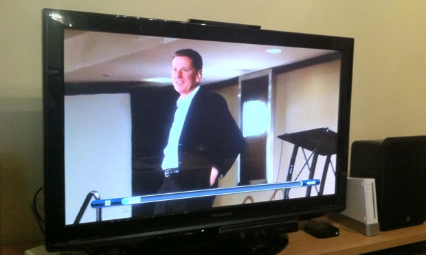 IPAD vídeo streaming a través de Apple TV